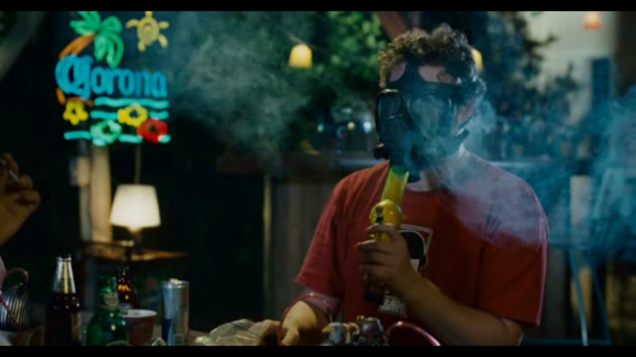 knocked up seth rogen smokin