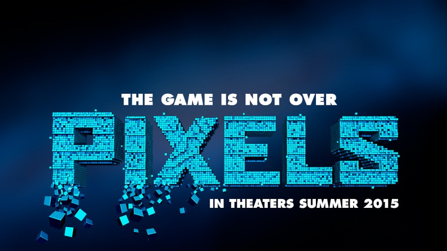 pixels wallpaper poster