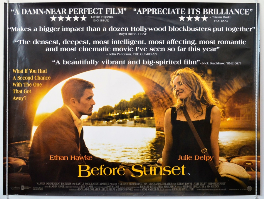 Before Sunrise: Cinema Quad Movie Poster
