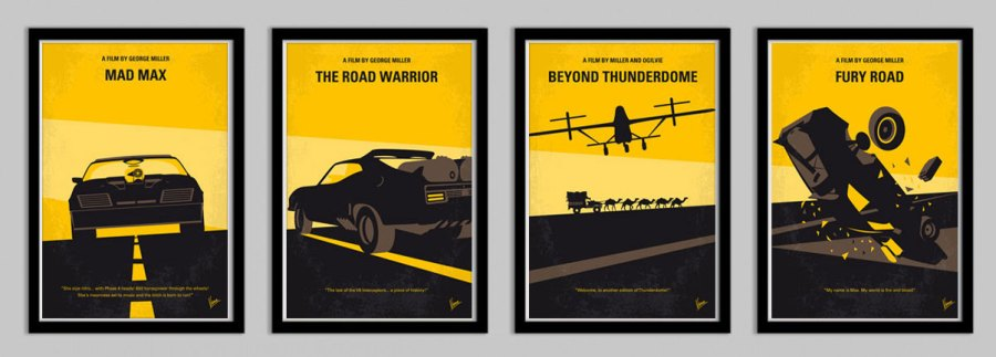 mad max four films