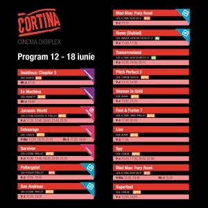 program cinema cortina 12-18 iunie 2015