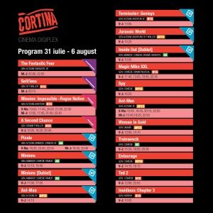 Program Cortina Oradea