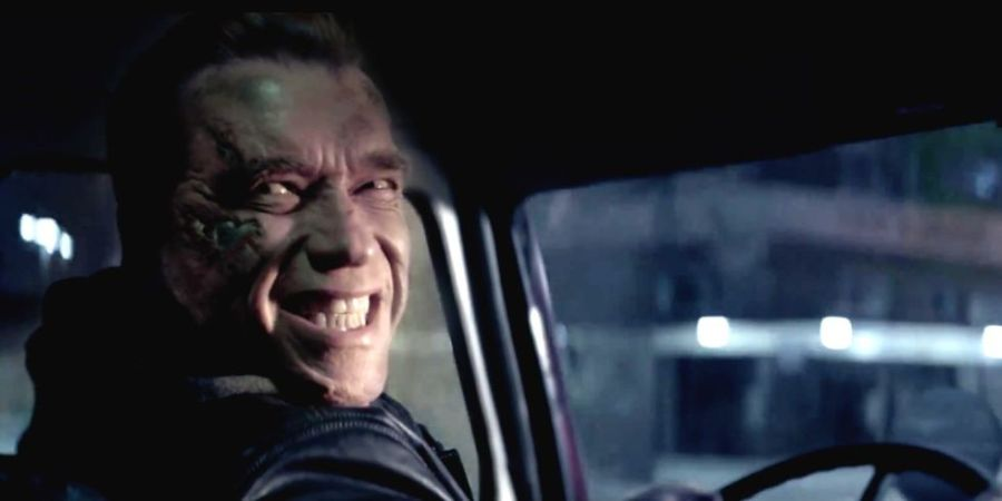 terminator funny smile