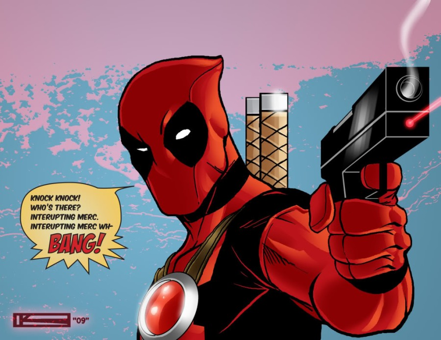 deadpool joke