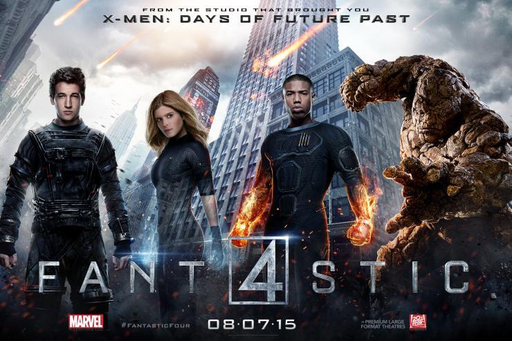 fantastic four in romania la cinema