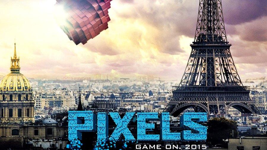 pixels film cu pac man