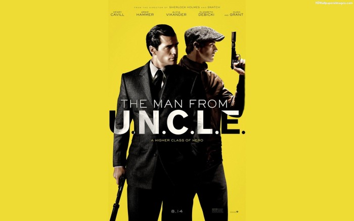 The Man from U.N.C.L.E. la cinema cortina