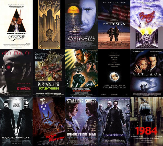 filme distopice
