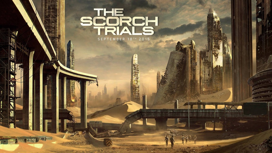 Maze Runner The Scorch Trials in cinema
