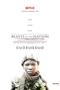 Beast of No Nation poster african movie