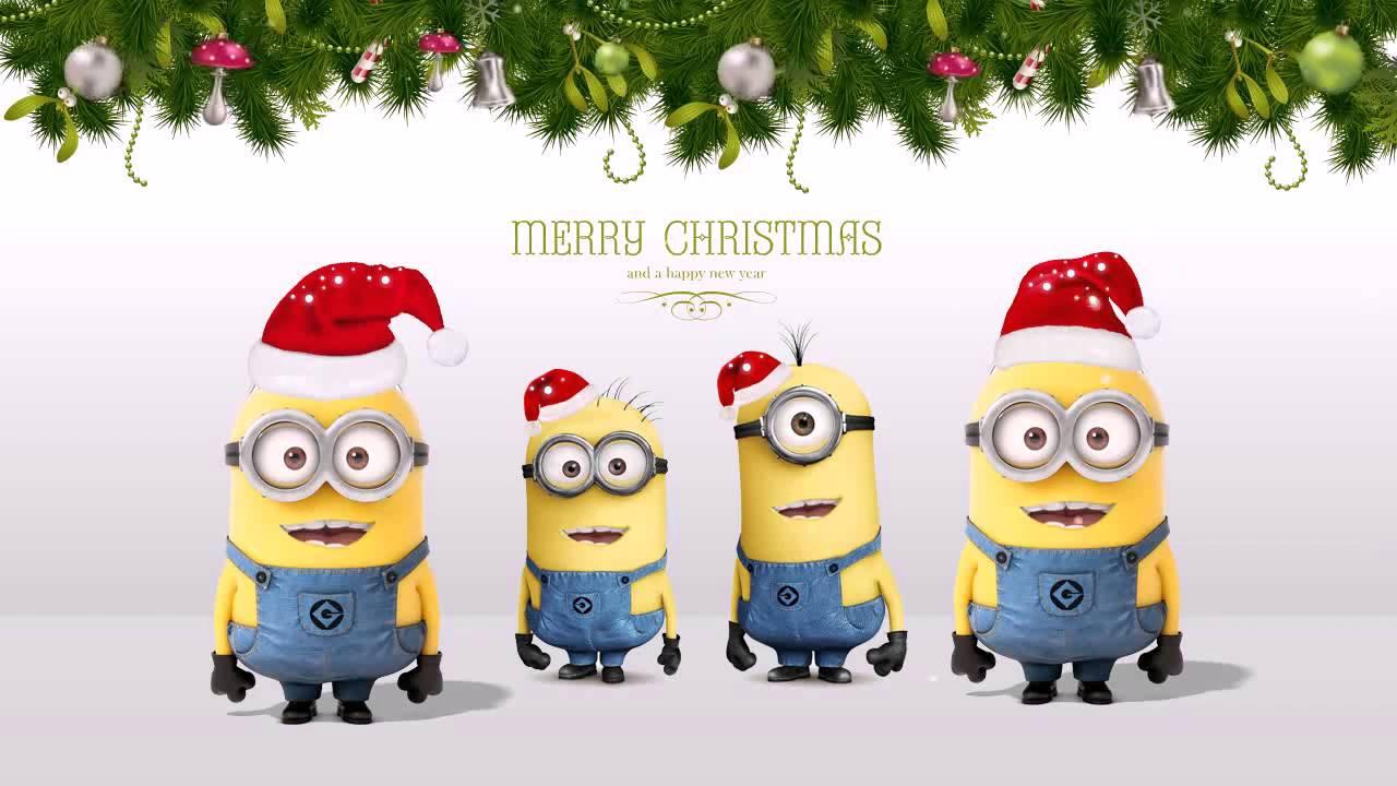 christmas minions