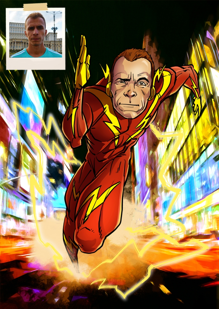 indydraw the flash
