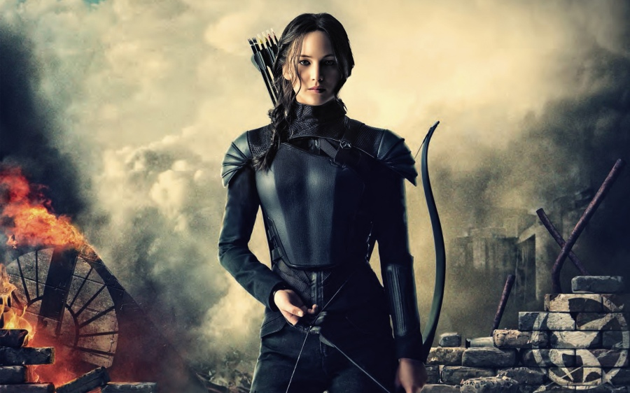 katniss lawrence
