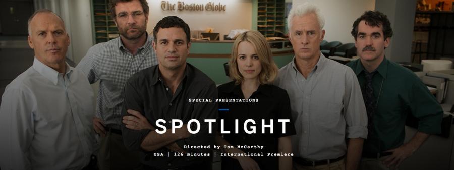 Spotlight wallpaper
