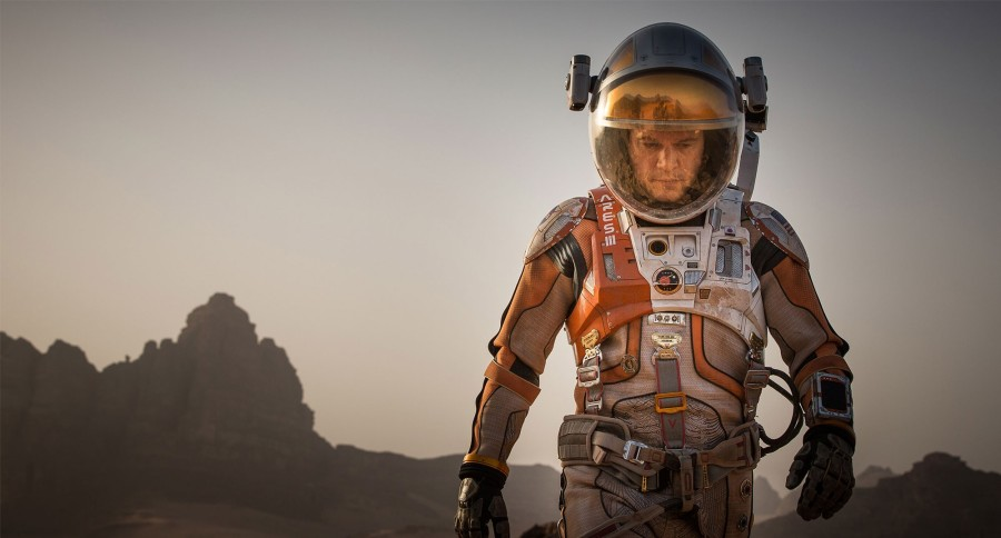 the martian golden globe
