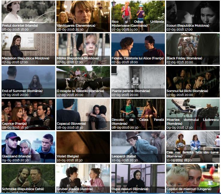program festivalul filmului european