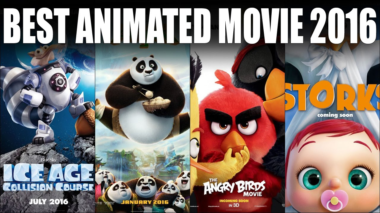 2016 animation movies