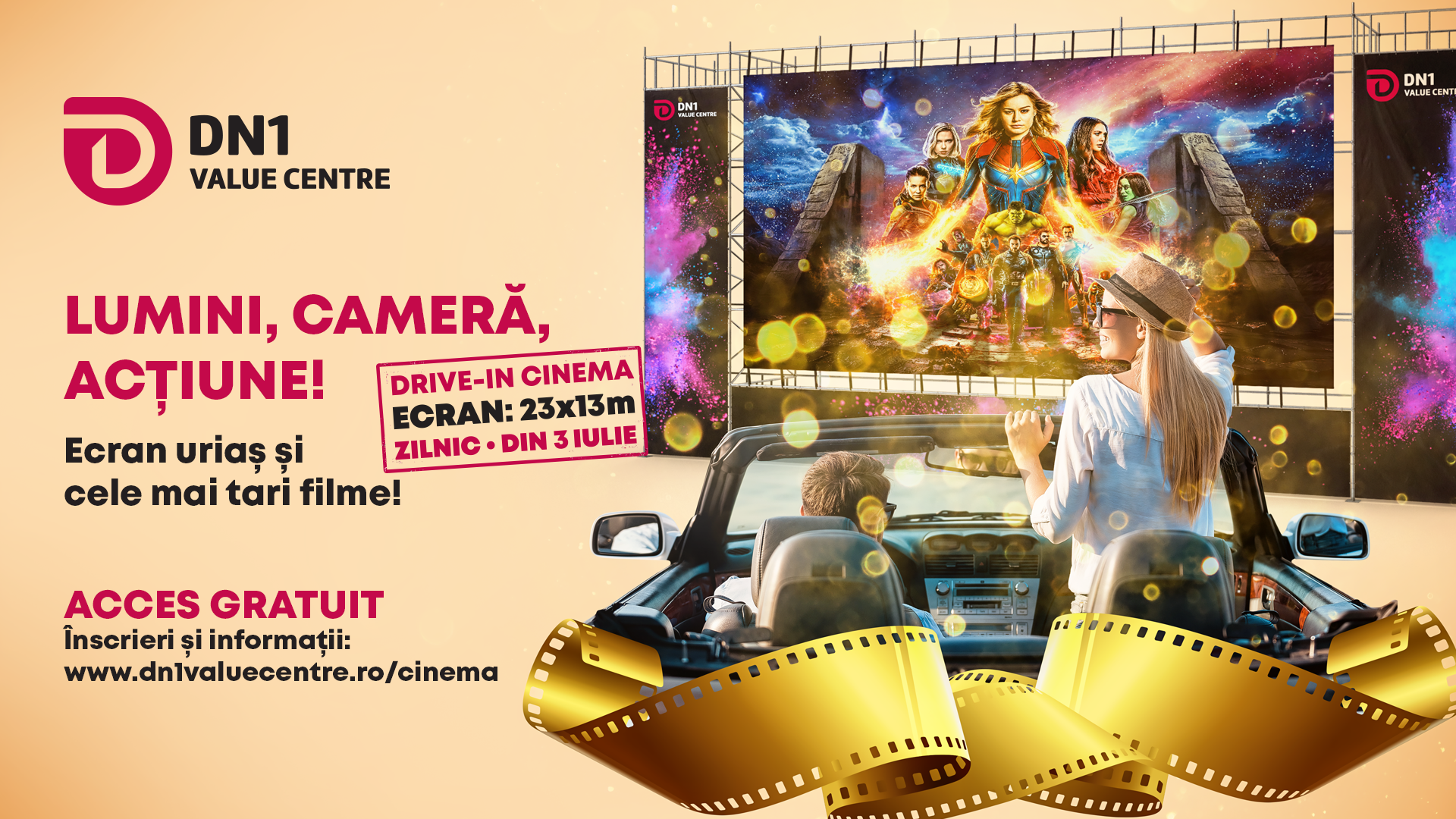 Drive-in Cinema GRATUIT