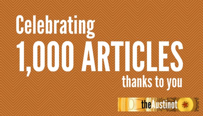 1000 de articole pe blog