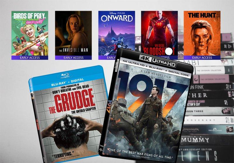 Top filme DVD 2020
