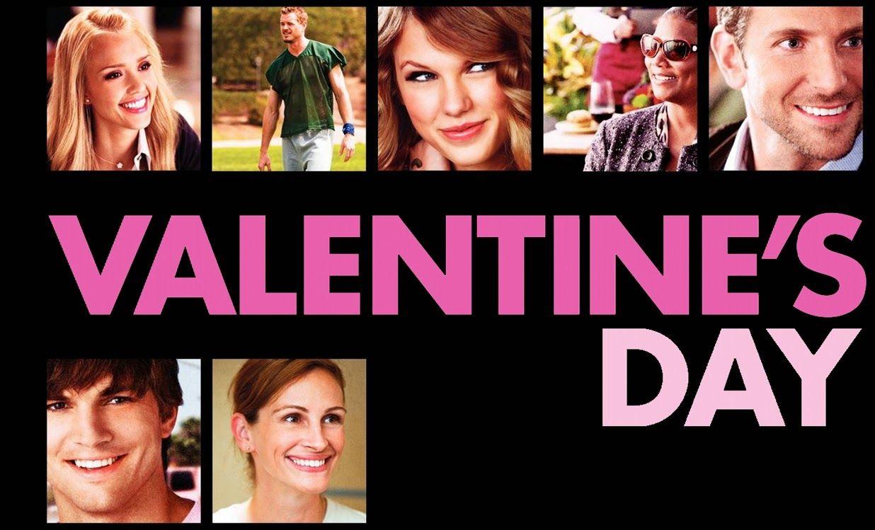 Filme de Valentine's Day pe DVD
